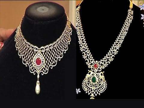 latest-diamond-necklace-sets-with-weight