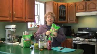 Edamame Hummus - Jazzy Gourmet Cooking School
