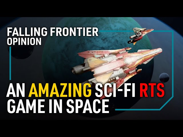 This Space Sci-Fi RTS Game Looks Amazing! | FALLING FRONTIER - Features & Gameplay
