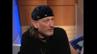 Ian Gillan & Roger Glover being interviewed by John Laws on Australian TV 1999