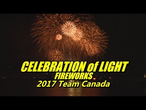 2017 Honda Celebration of Light Vancouver Fireworks Team Canada