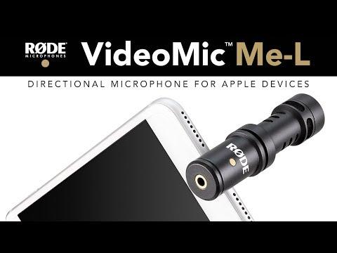 Introducing the VideoMic Me-L