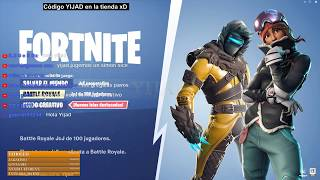 CODE YIJAD - France FORTNITE BATTLE ROYALE #206