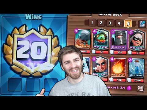 WOW! 20 WIN MAGIC ARCHER DECK!? INTENSE LAST DAY ATTEMPTS! |