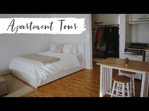 My Los Angeles Studio Apartment Tour | Minimalist & Thrifted