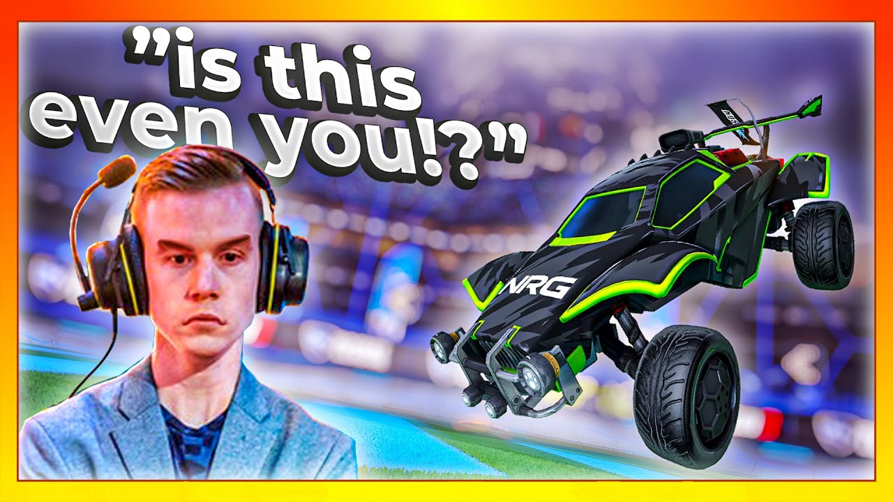 I hired the best Rocket League freestyler to PRANK Lethamyr (he rage quit)