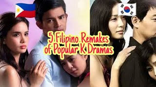 5 Filipino Remakes of Popular Korean Dramas ~ PART 1