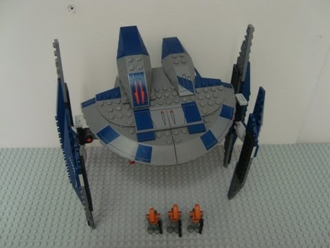 LEGO STAR WARS HYENA DROID BOMBER 8016 REVIEW
