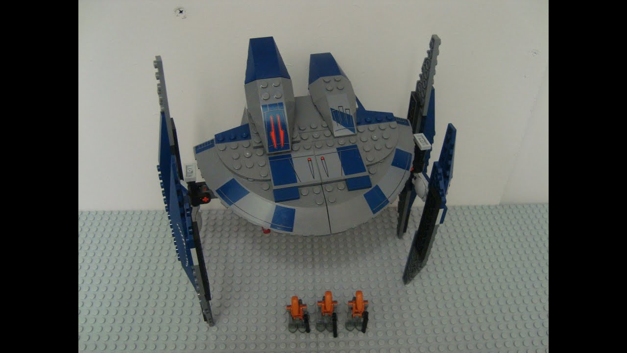 Lego Star Wars Hyena Droid Bomber 8016 Review Youtube