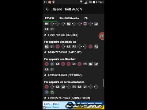 Trucchi Di Gta 5 E Gta 4 Per Ps3 - YouTube