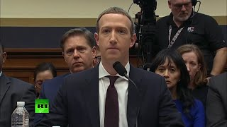 Mark Zuckerberg testifies before the House Financial Services Committee