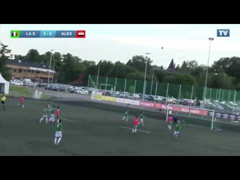 "Gothia Cup 2016"" 1/16 final play off B"" - La Salesienne de Paris (FRA) vs  Alexandria Sporting (EGY)"