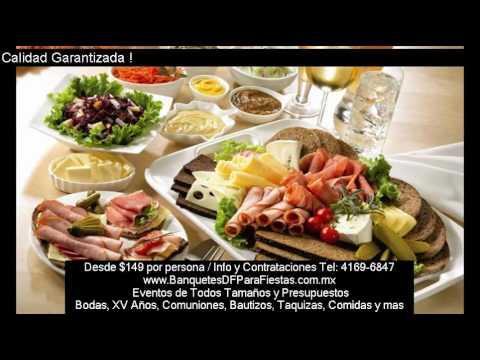 Empresas De Banquetes Y Catering