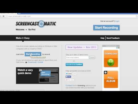 How To Record PC Game Play: Free Screen Recording Software Online *READ DESCRIPTION* No Download 201