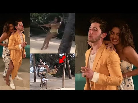 Priyanka Chopra & Nick Jonas lovely moments from Honeymoon