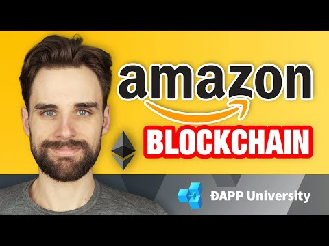Amazon Is Using Ethereum Blockchain Technology! ($ETH, $AMZN)