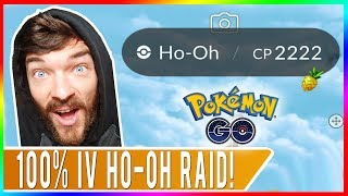 WE ACTUALLY GOT THE PERFECT 2222 CP HO-OH! But Was It SHINY? Pokemon GO Ho-Oh Raids in Tokyo, Japan!