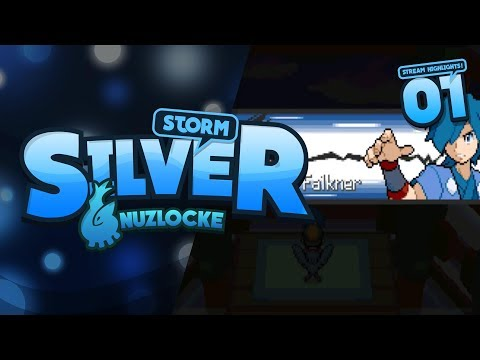 Pokemon Storm Silver Randomise Nuzlocke Part 1 [TWITCH STREAM]