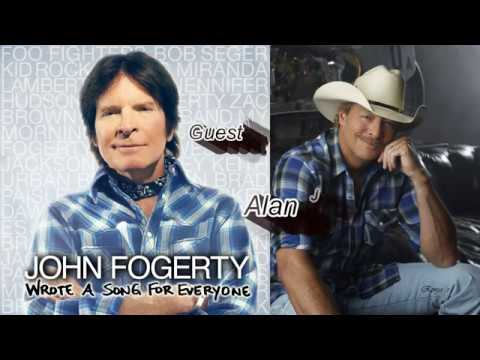 "John Fogerty &  Alan Jackson ~  ""Have You Ever Seen The Rain"""