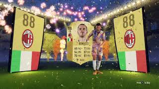 FIFA 18 Bonucci walk out doing the robot!!!!
