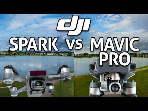 DJI SPARK vs MAVIC PRO! In-Depth Comparison REVIEW