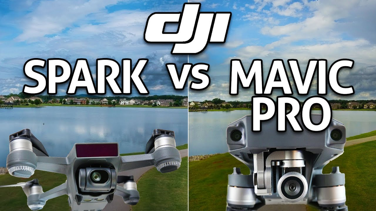 DJI SPARK Vs MAVIC PRO In Depth Comparison REVIEW