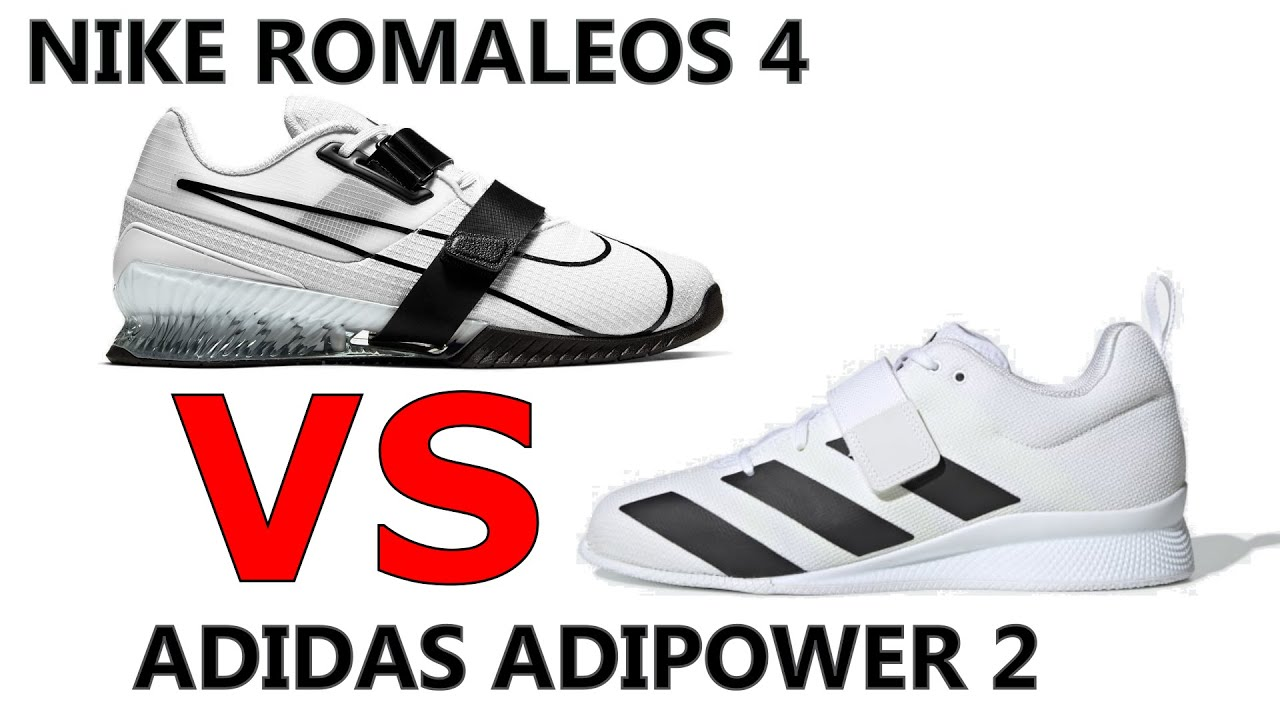 Nike Romaleos 4 Versus Adidas Adipower 2 Olympic Weightlifting Shoe Review