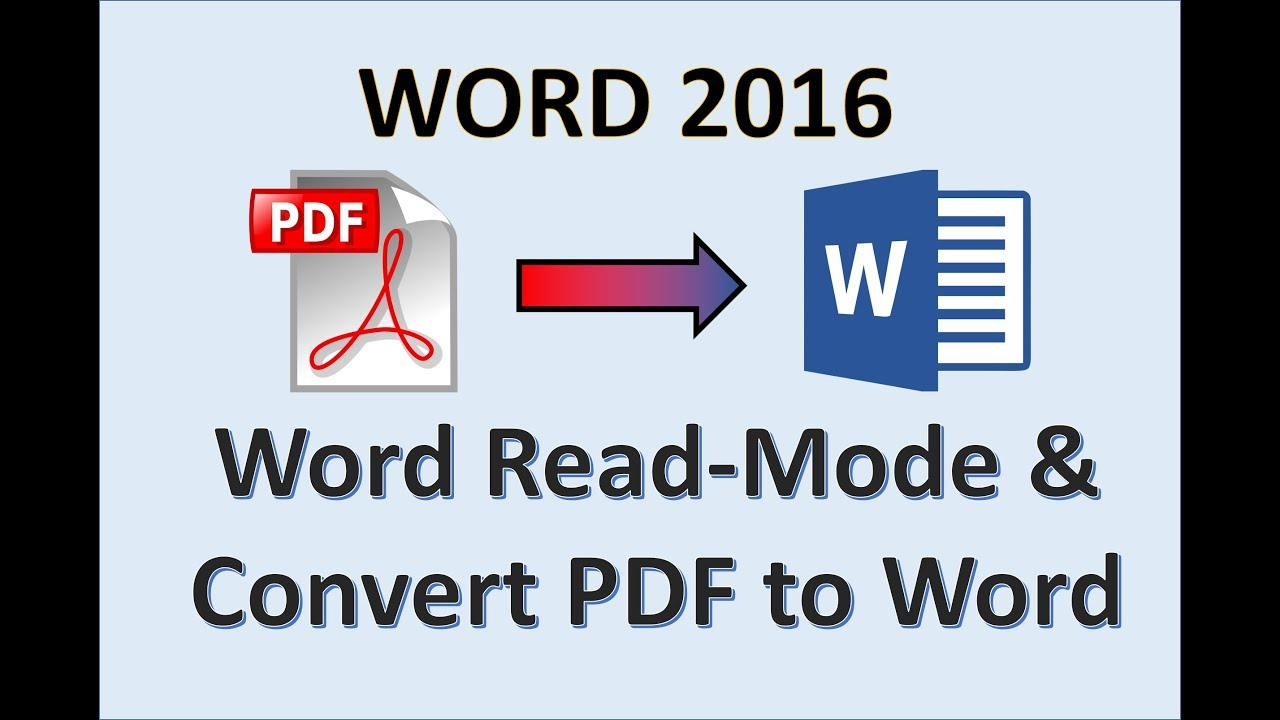 Word 20   Convert Document to PDF   How to Change Make Turn Save ...