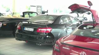 BRABUS Showroom & Parking lot in Bottrop-Germany