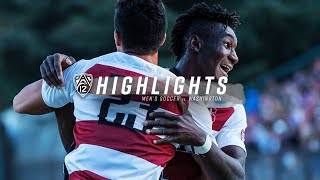 Stanford Men's Soccer vs. Washington [11.10.19]