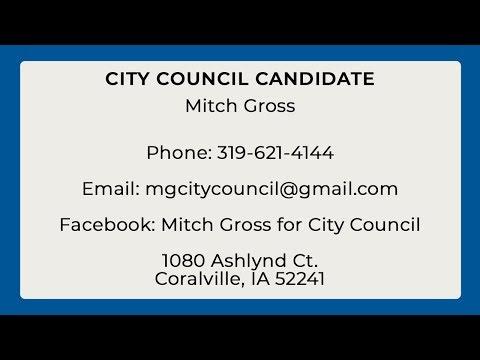 City Council Candidate: Mitch Gross