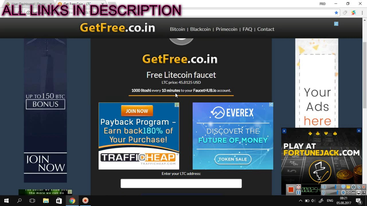 Bitcoin Faucet Per Month Best Site For Free Litecoins