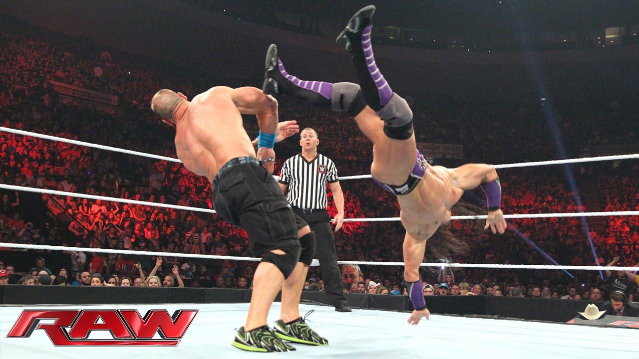 John Cena vs. Neville – United States Championship Match: Raw, May 11, 2015
