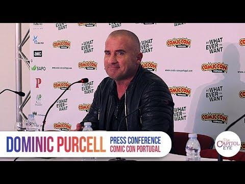 Press Conference  Dominic Purcell  Comic Con Portugal
