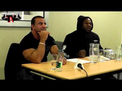 George Farah & Kai Greene seminar ireland 2012 Full HD