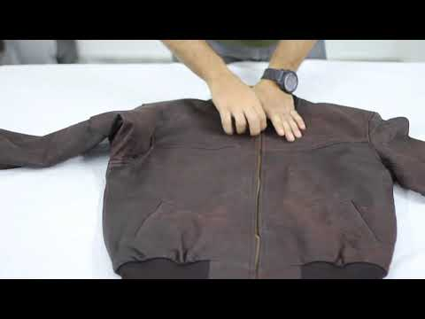 Unboxing Of Dustin Brown Bomber Leather Jacket | Film Jackets