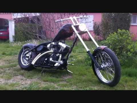 street bob chopper rigid youtube. Black Bedroom Furniture Sets. Home Design Ideas