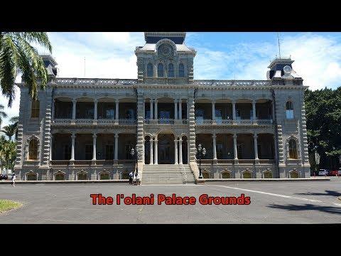 Hawaii's i'olani Palace with the 3 Bruddahz
