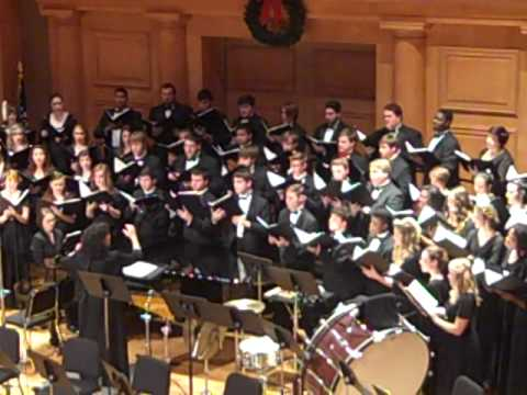 Deck the Hall, Traditional Welsh Carol arr. John Rutter