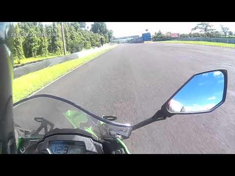 Kawasaki Racing Academy at sentul with ninja mono