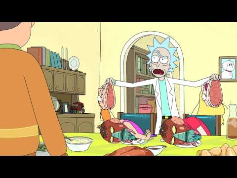Rick and Morty trailers