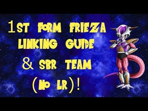 Frieza (1st form) (Transformation) Linking Guide! || DBZ Dokkan Battle