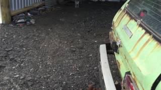 Old Lada Niva running New Zealand смотреть