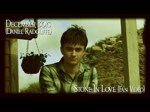 Stone In Love (Daniel Radcliffe/December Boys fan-made music video)