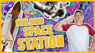 Kerbal Space Program : Building Space Station Epic Funny Fails