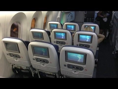 Inside British Airways Boeing 787 Dreamliner