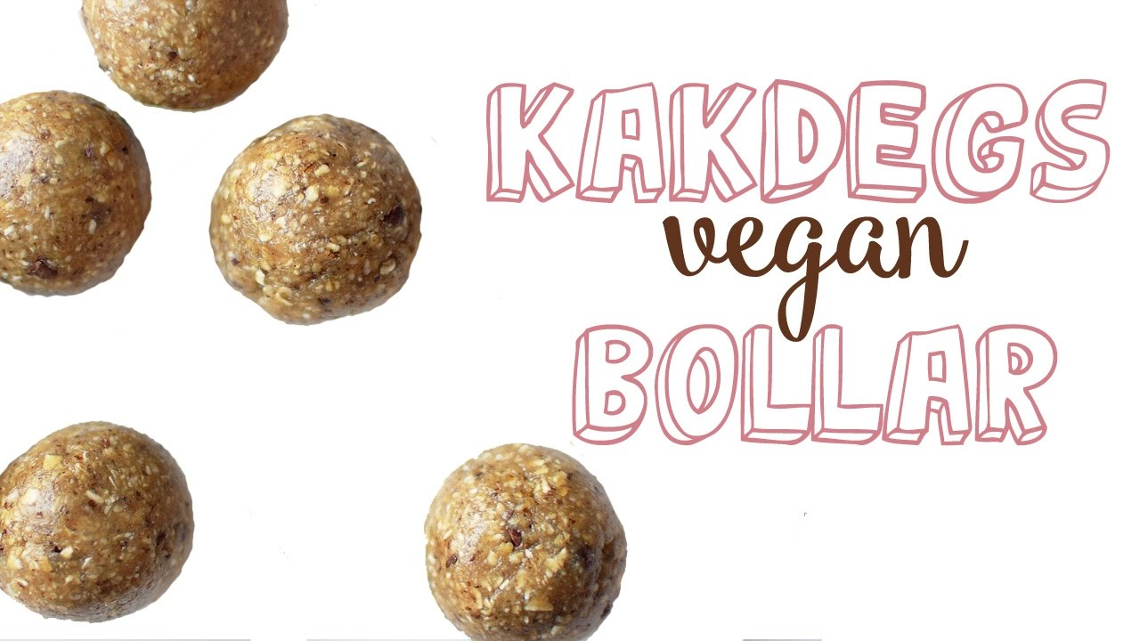 vegan recept bakning