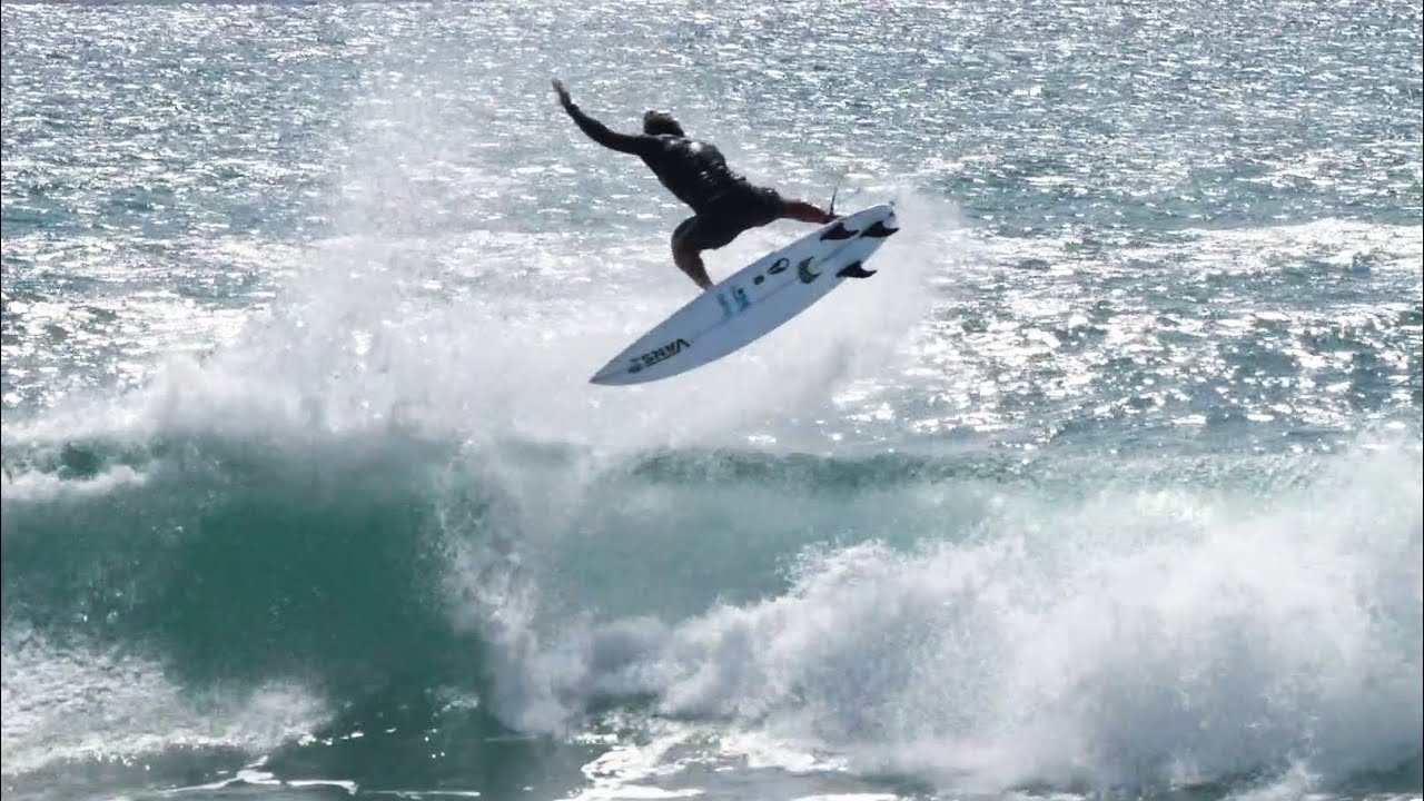EPIC AIR SESSION WITH JOHN, KOA ROTHMAN LEARNS TO EFOIL!!