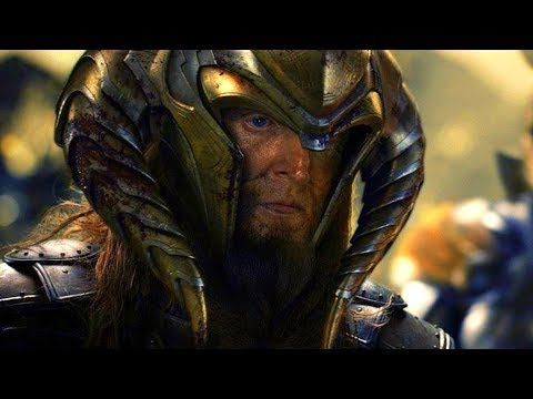King Bor vs Dark Elves - Battle Scene - Thor: The Dark World