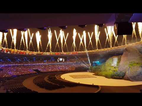 Asian Games 2018 Jakarta - Palembang Opening Ceremony (Audience View)